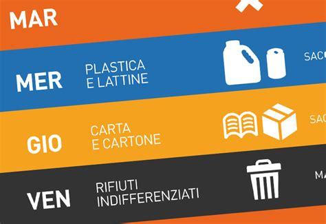 Calendario Arezzo Distribuzione Sacchi Raccolta Differenziata Zona Arezzo