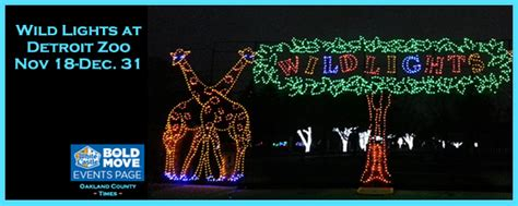 Wild Lights At Detroit Zoo Nov 18 Dec 31 The Oakland Detroit Zoo Lights 2013