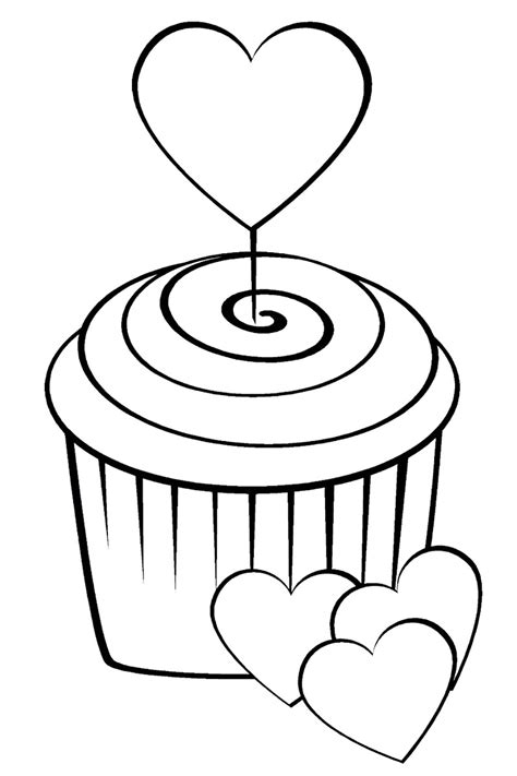 printable coloring pages sweets coloring pages for childrens printable for free