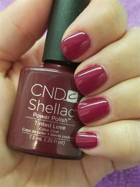 shellac manicure colors cnd shellac tinted nail designs