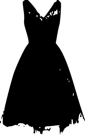 black dress clipart clipground