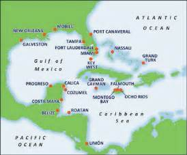Caribbean Cruise Map by Map Of Western Caribbean Carnival Cruise Awesome