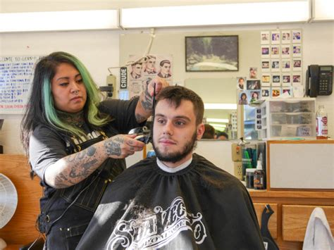 everyone is family at gerry s barbershop