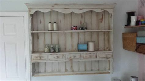 shabby chic kitchen dresser wall unit