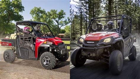 honda pioneer 1000 vs polaris ranger xp 900 atv