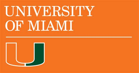 university of miami powerpoint template university of