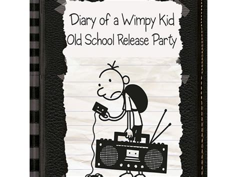 diary of a wimpy kid school release