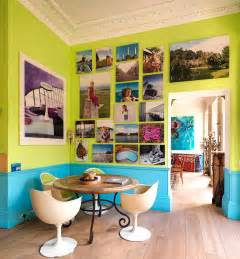 lime green dining room visual feast 25 eclectic dining rooms drenched in