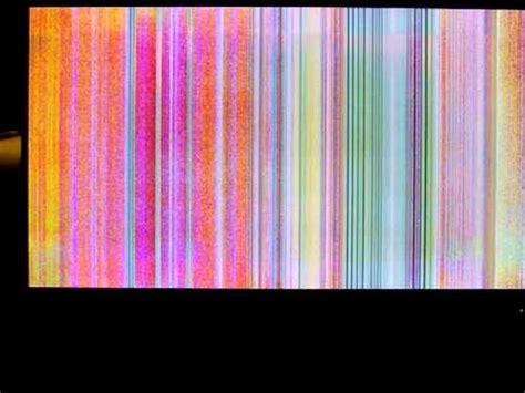 lcd tv problem vertical ghost lines doovi