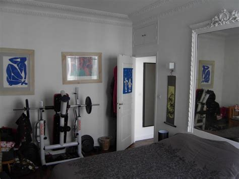 exercise equipment in bedroom before after introducing the enchanting madiran paris