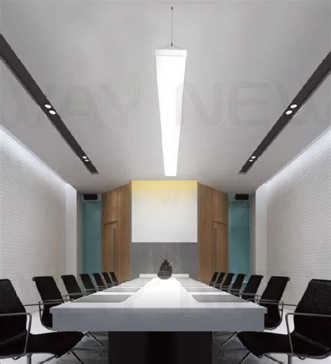 Office Pendant Lighting Suspended 1m 54w Linear Panel Led Pendant Light Indoor Suspended Linear Led Pendant L 1000mm