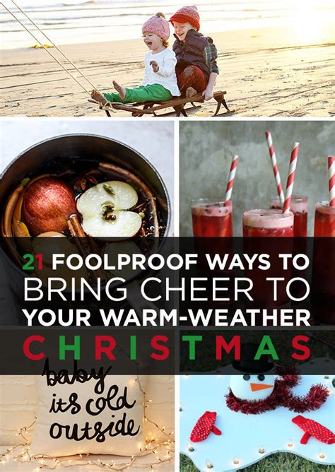 21 foolproof ways to bring cheer to your warm weather