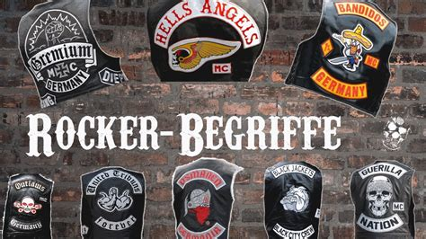 Motorrad Shop Offenbach by Rocker Begriffe Bandidos Hells Gremium United