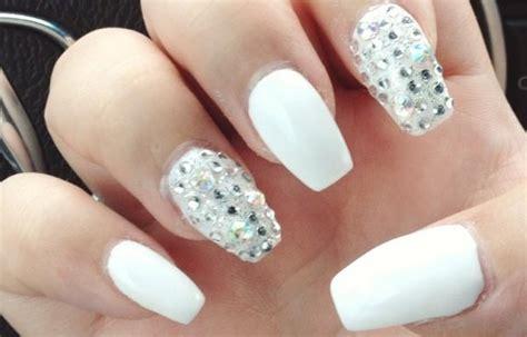 imagenes de uñas pintadas blancas u 241 as decoradas color blanco u 241 asdecoradas club