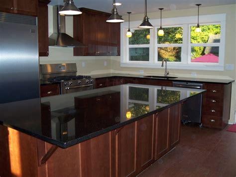 Black Quartz Kitchen Countertops by Black Quartz Countertops Keep Clean Home Interior