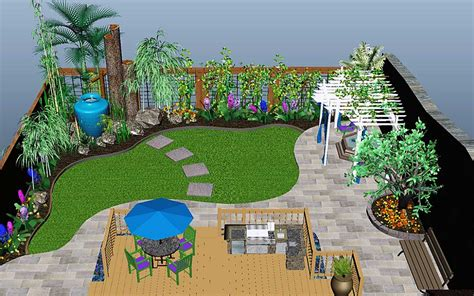 nikkilin 187 3d landscaping design