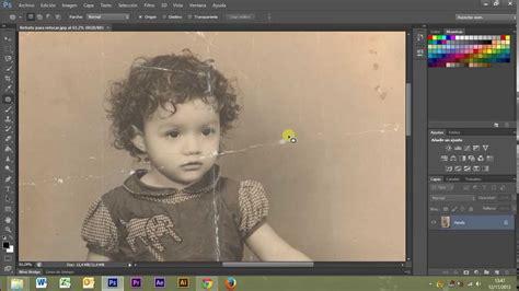 fotos antiguas para restaurar como restaurar una foto antigua photoshop cs6 r 225 pido y