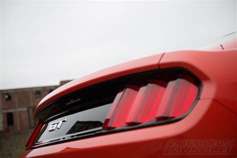 2014 mustang gt tail lights video americanmuscle s official review of the 2015