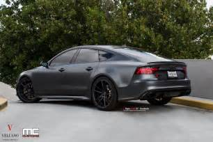 Audi Rs7 Satin Grey Audi Rs7 On Vellano Wheels Is A Supercar Slayer