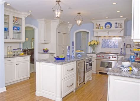 light blue kitchen walls good colors to paint a kitchen to make the room beautiful