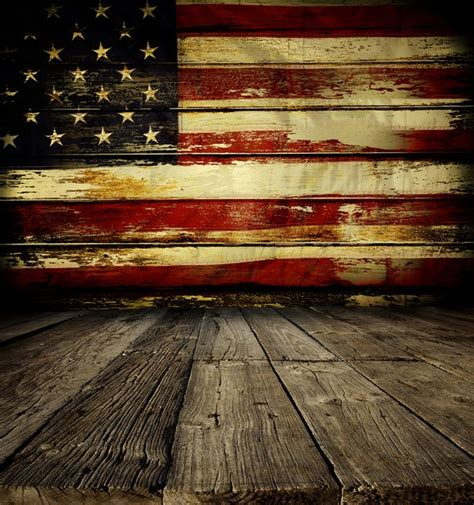 rustic american flag backdrop patriotic   july flag