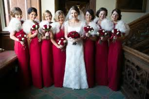 The traditional white wedding dress is also beautifully complimented