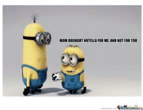 Memes De Minions - minion nutella by zxealot meme center