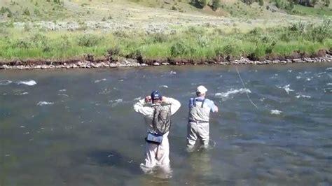 fishing the gallatin river montana fly fishing on the gallatin river big sky mt aug 4 2010