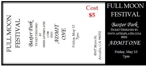 raffle ticket template 14 free templates free premium templates