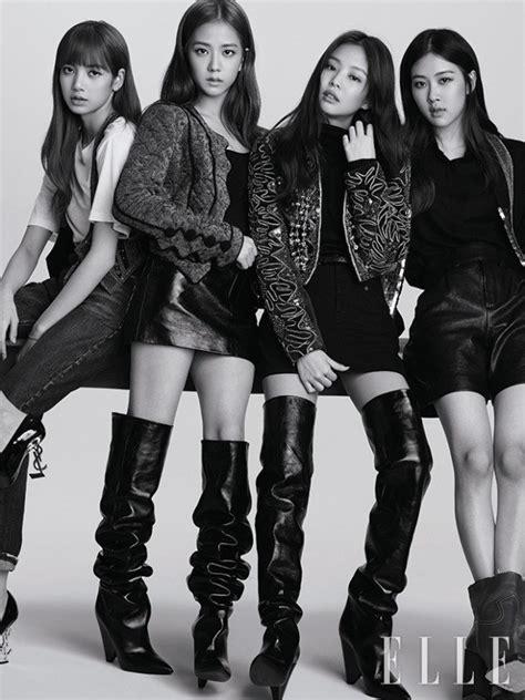 blackpink elle magazine black pink melt hearts in elle korea photoshoot koogle tv