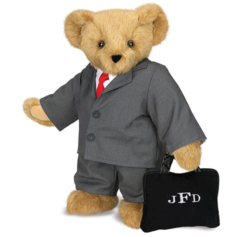 pictures of teddy bears in tuxedos 15 quot business man bear vermont teddy bear pinterest