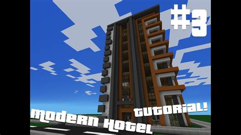 minecraft pocket edition modern hotel tutorial part