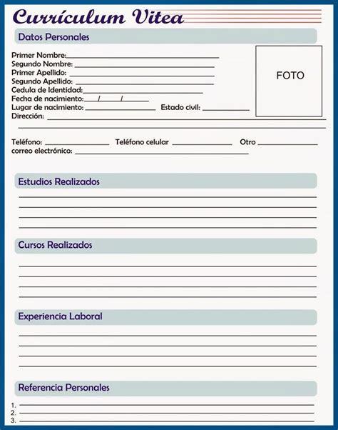 Modelo Curriculum Vitae Para Completar E Imprimir 1000 Ideias Sobre Modelo De Curriculum Vitae No Modelo Curriculo Modelos De