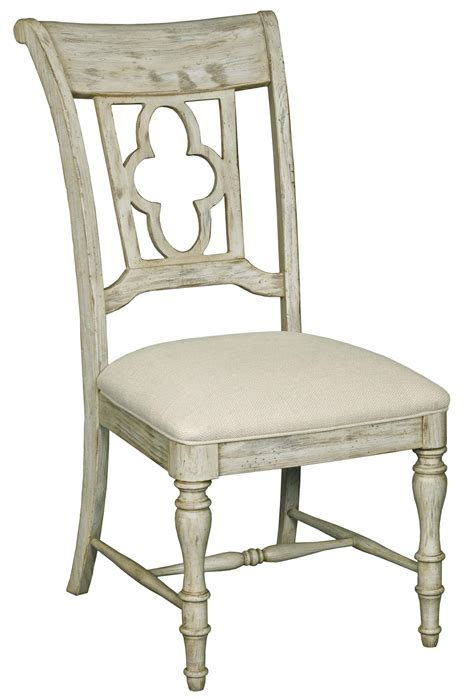 Quatrefoil Chair by Furniture Weatherford Side Chair With Quatrefoil