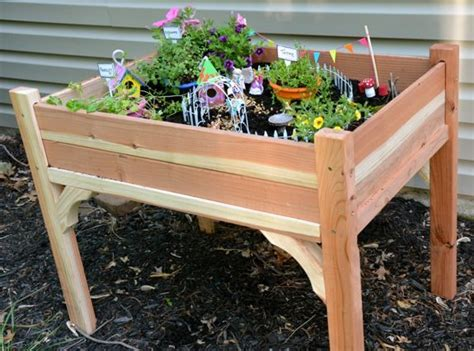 lets build  fairy garden table  child fun