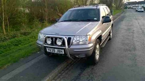 silver jeep grand 2001 jeep 2001 grand limited silver lpg car for sale