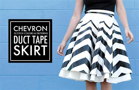 pattern making tape diy duct tape skirt on what i wore