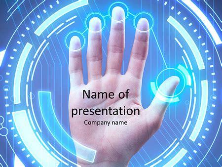 Fingerprint Powerpoint Template