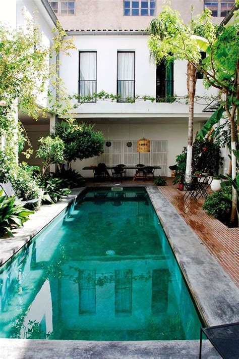 outdoor lap pool best 25 french style homes ideas on pinterest french