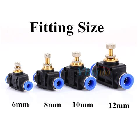 Pnuematic Push In Fitting 12mm X 10mm Union various pneumatic push in fittings air valve water hose