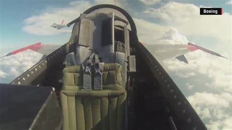 remote control jet f 16 fighting f 16 fighter jet flies with empty cockpit cnn video