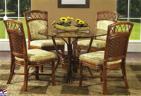 indoor wicker dining room sets 23 best images about indoor wicker and rattan dining sets