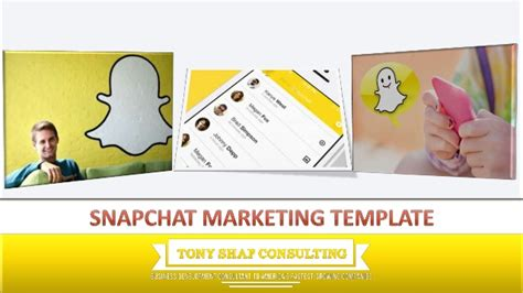 Snapchat Marketing Template Snapchat Ad Template