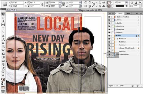 magazine layout bleed creating a print layout adobe creative suite 5 part 1