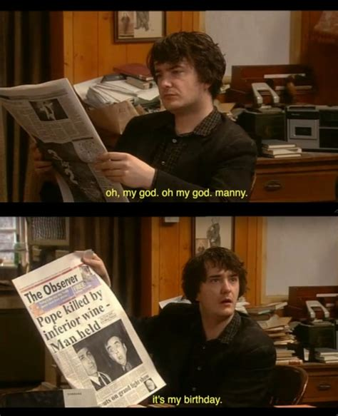 Black Books Meme - black books bernard black oh my god oh my god manny