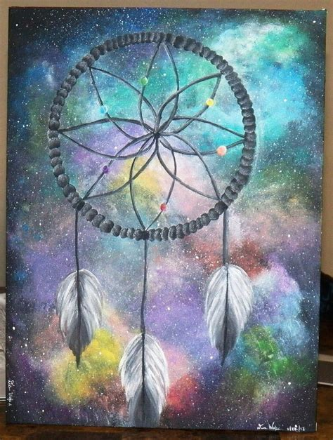paint dream dreamcatcher galaxy by flowinsanity on deviantart