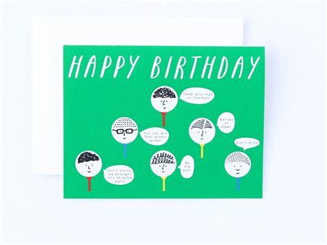 anniversary card golf template golf card geburtstagskarte lustige golf geburtstagskarte