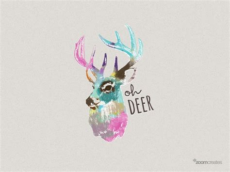 free quot oh deer quot desktop wallpaper downloads from portland