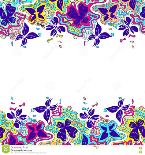 border color butterflies border color 3 stock vector image of frame