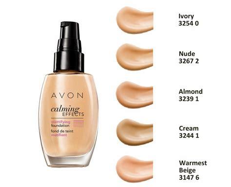 Foundation Avon Avon Mattifying Foundation Calming Effects Semi Covering